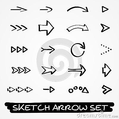 Sketch arrow set