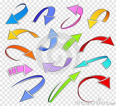 Free Sketch Arrows Stock Photo - 24323370