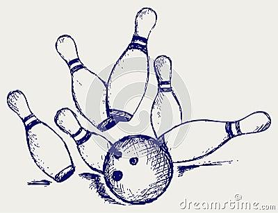 Sketch bowling