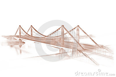 Sketch of a bridge