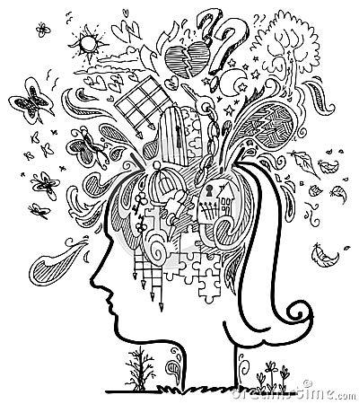 Sketch doodles: confusion vector