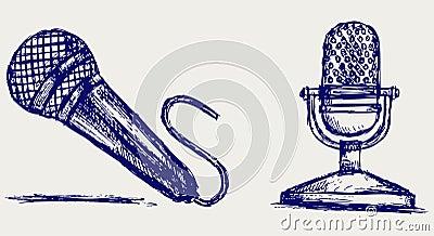 Sketch microphone