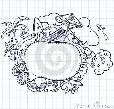 Sketch Speech Bubble Stock Photo - Image: 24398780