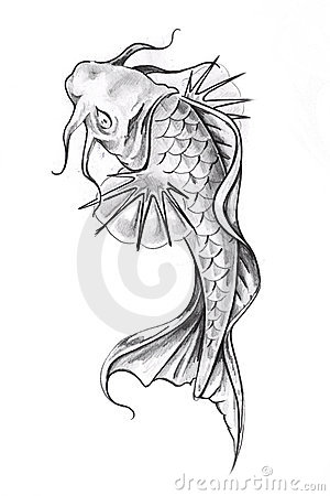 goldfish tattoo meaning. goldfish tattoo design.