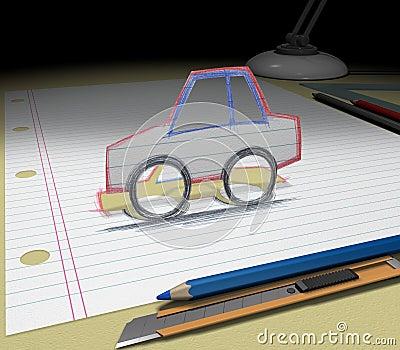 Sketch your dream (car)