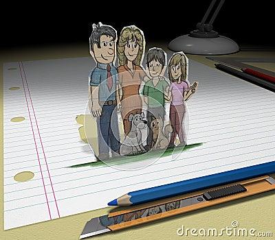 Sketch your dream (family)