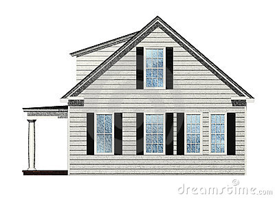 Sketched House