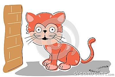 Sketchy cat