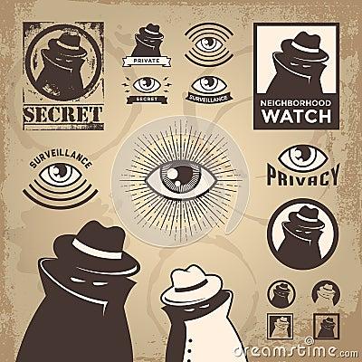 Sketchy Criminal, Surveillance Agent, and Privacy Spy