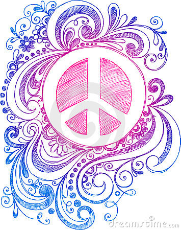 peace sign screensavers
