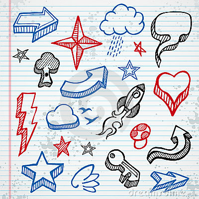 Free Sketchy Icons Royalty Free Stock Image - 16872016