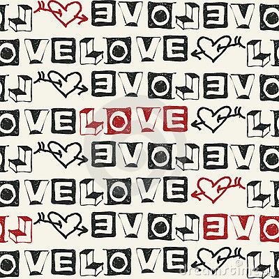 Sketchy love fonts