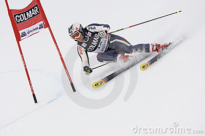 SKI: Alpine Ski World Cup Alta Badia Giant Slalom Editorial Photo