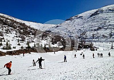 Ski Area Editorial Photo