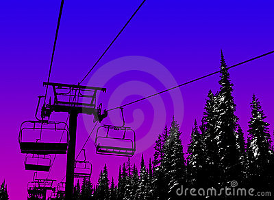 Ski background