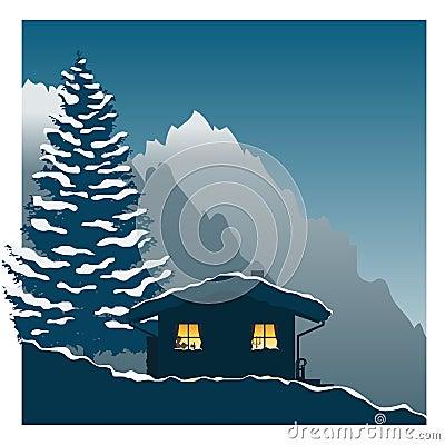 Ski cottage