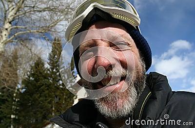 Ski Guy Happy