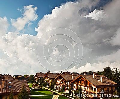 Ski hotel resort
