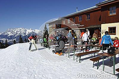 Ski Hut Editorial Image