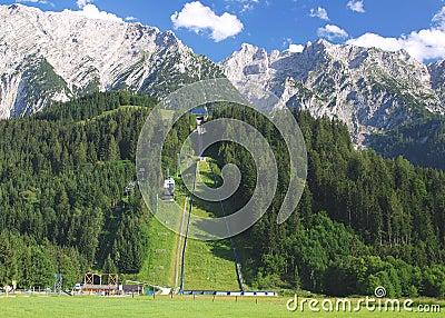 Ski Jump Bad-Mitterndorf,Austria