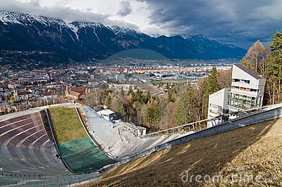 Ski-jump Bergisel
