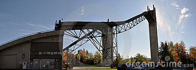 Ski Jump in Lake Placid Olympic Jumping Complex