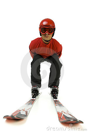 Free Ski Jumper Royalty Free Stock Photo - 3671545