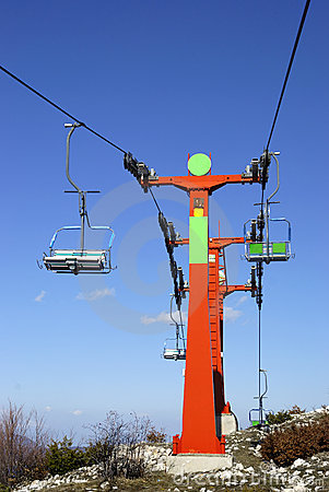 Free Ski Lift Royalty Free Stock Image - 6993656
