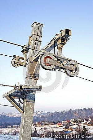Ski lift gears