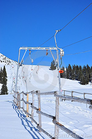 Ski lift installation