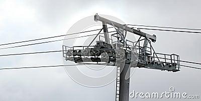 Ski lift structure