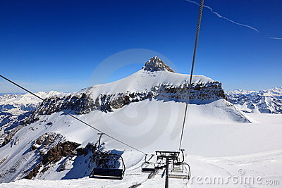 Ski Lifts in the Alps