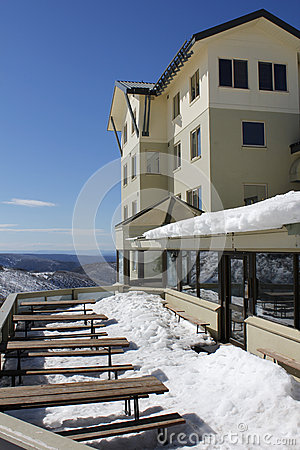 A ski lodge in Australia
