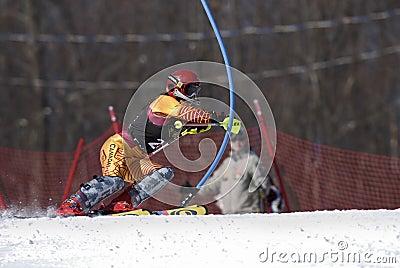 Ski racer Editorial Image