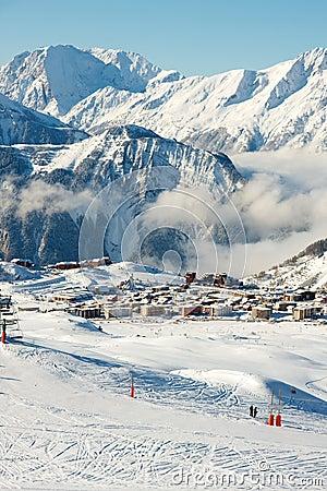 Free Ski Resort Royalty Free Stock Images - 11090969