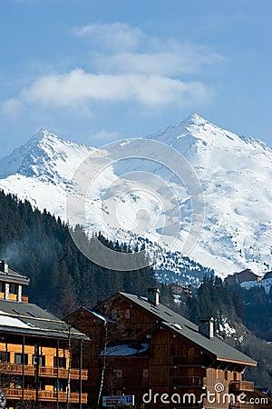 Free Ski Resort Chalet Stock Image - 5776441