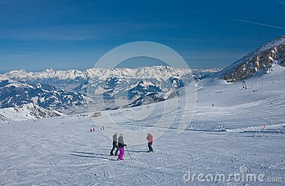 Ski resort of Kaprun,  Austria