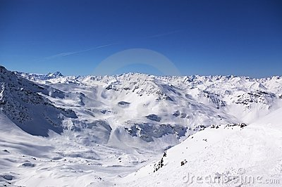 Ski Resort Winter View Stock Image - Image: 12762101