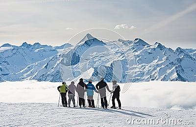 Ski resort Zell am See Editorial Image