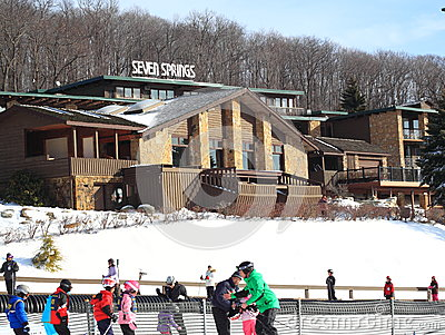 Ski Resorts Editorial Photo