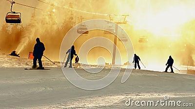 Ski Silhouettes