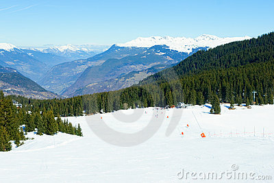Ski Slope Stock Photo - Image: 8591780
