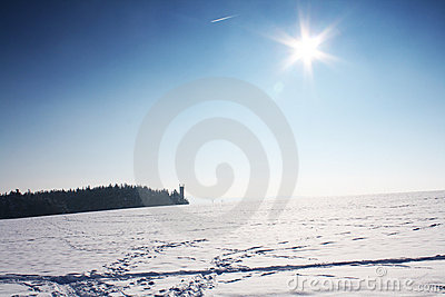 Ski Track Stock Photos - Image: 21540093