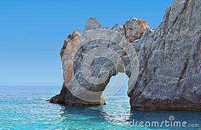 Skiathos island in Greece.