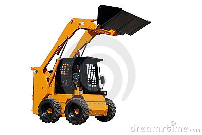 Skid steer loader (isolated)