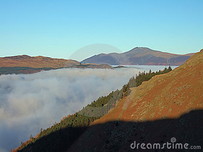 Skiddaw  above cloud