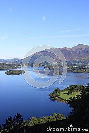Free Skiddaw & Derwentwater From Surprise View, Cumbria Stock Photo - 26769140