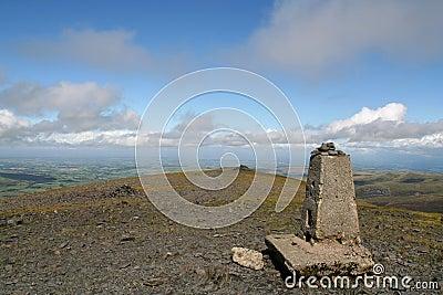 Skiddaw Gipfel