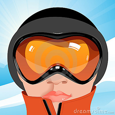 Free Skier Royalty Free Stock Photography - 10978457