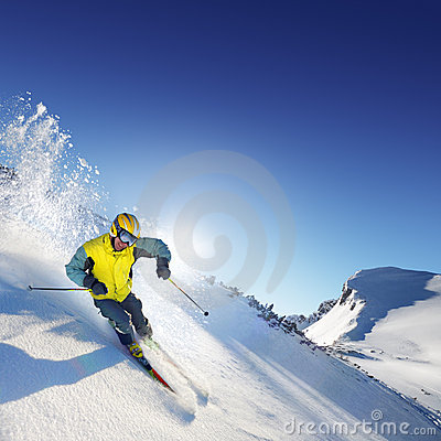 Free Skier Stock Photos - 5043083